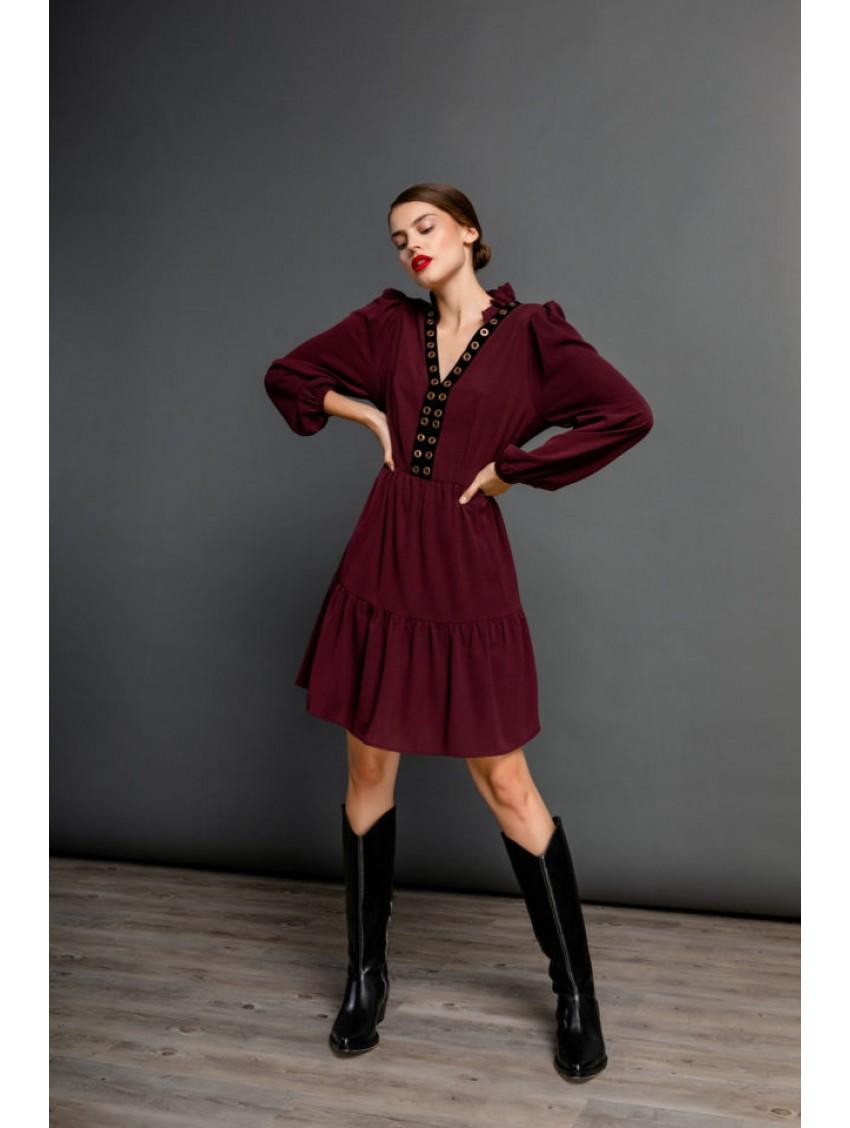 Φόρεμα 18188ΜΠΟΡΝΤΩ