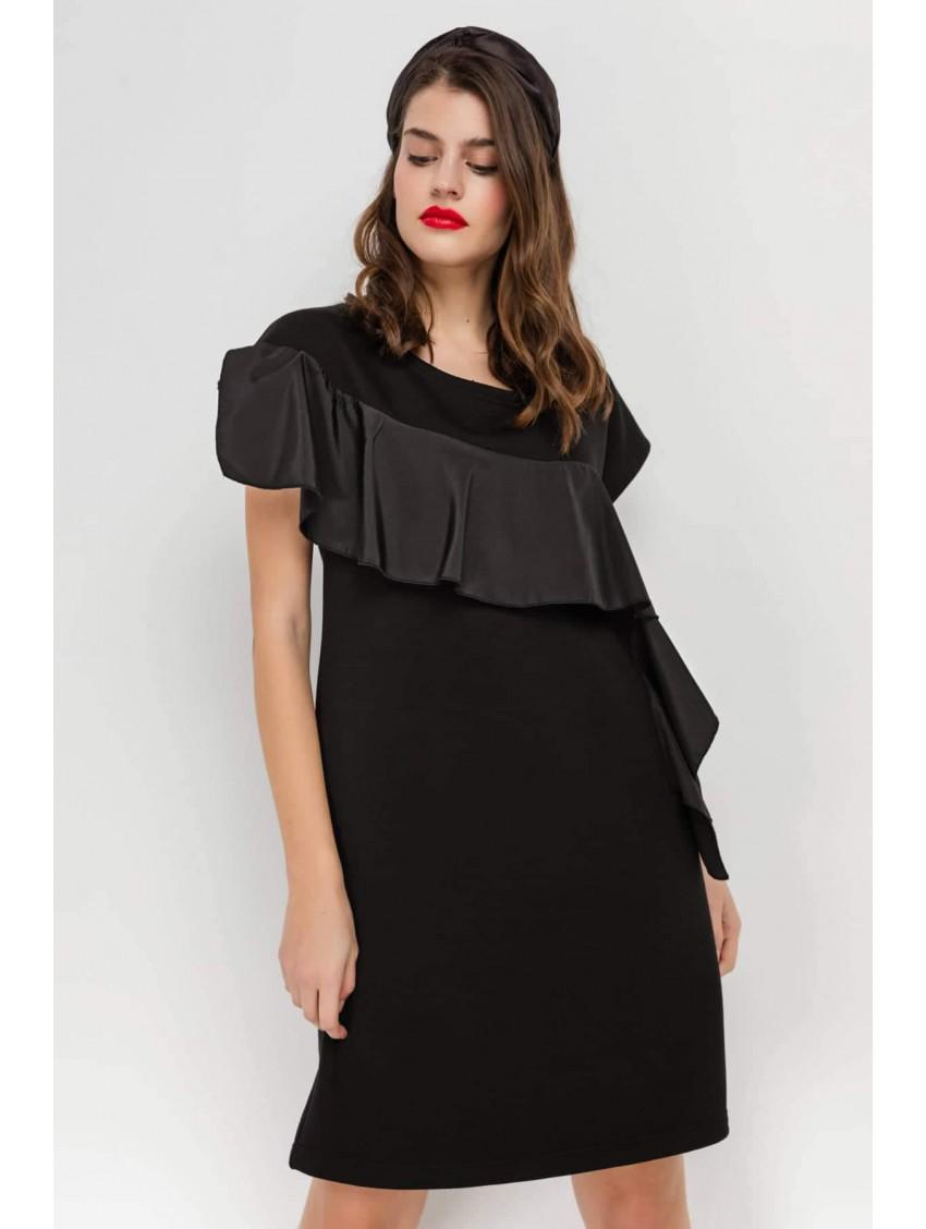 Φόρεμα 0641ΜΑΥΡΟ