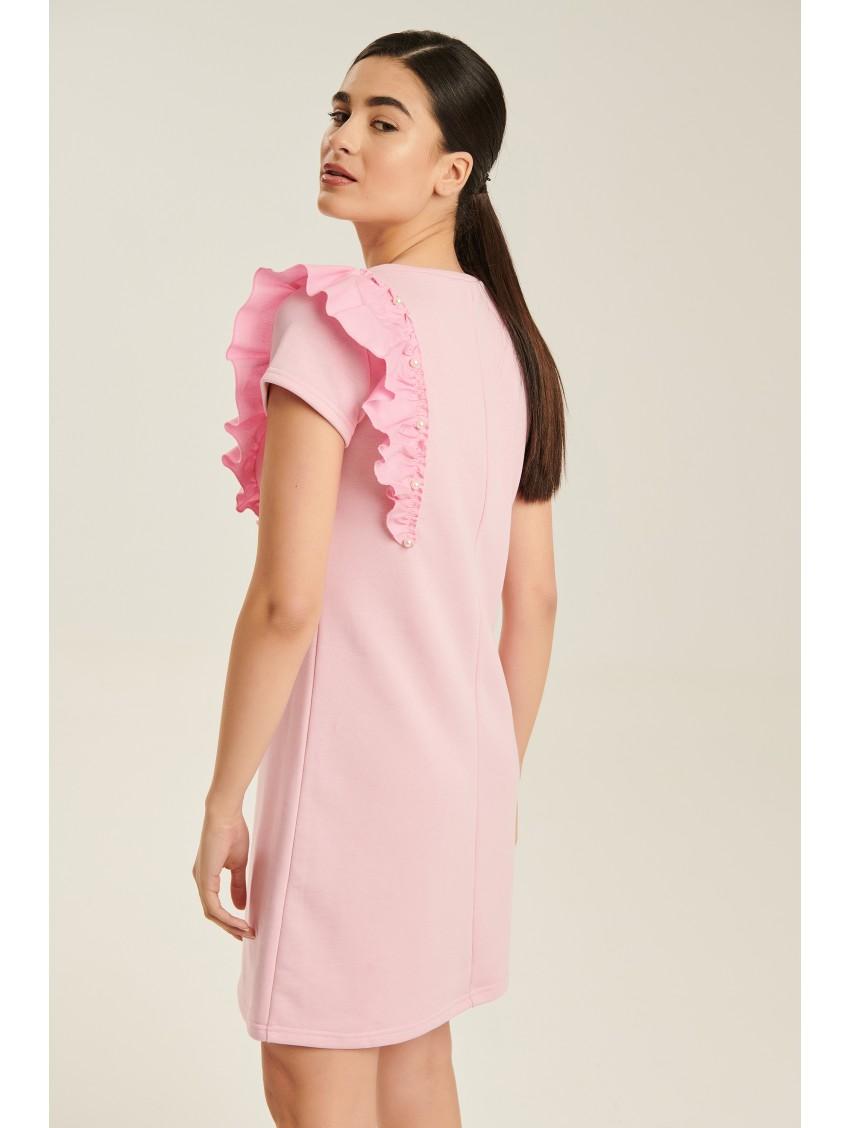 Φόρεμα C0938ΡΟΖ