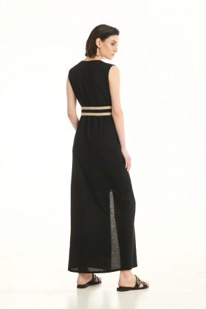 Φόρεμα D30316ΜΑΥΡΟ