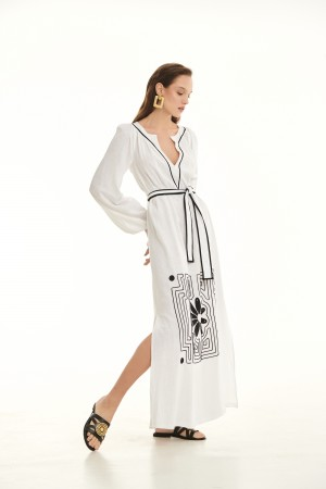 Φόρεμα D30323ΕΚΡΟΥ