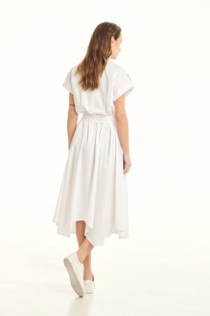 Φόρεμα D30342ΛΕΥΚΟ